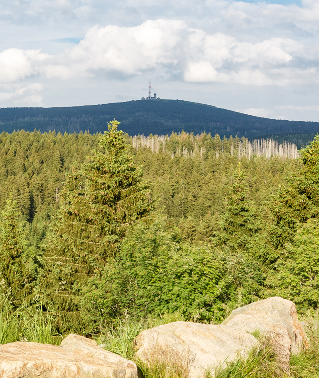 The Brocken is with 1.141m the highest mountain in northern Germany.